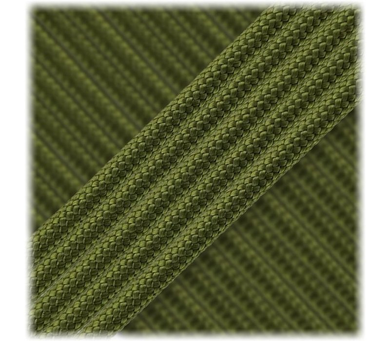 Paracord Type III 550, Moss Green