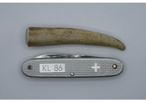 Bushpappa Piece of deer Antler 9 cm