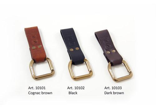 Casstrom Casstrom dangler & Belt loop Cognac, Brown & Black