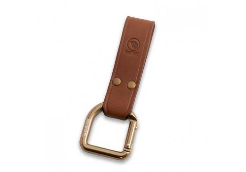 Casstrom Casstrom No.3 Dangler XL & Belt loop Cognac brown