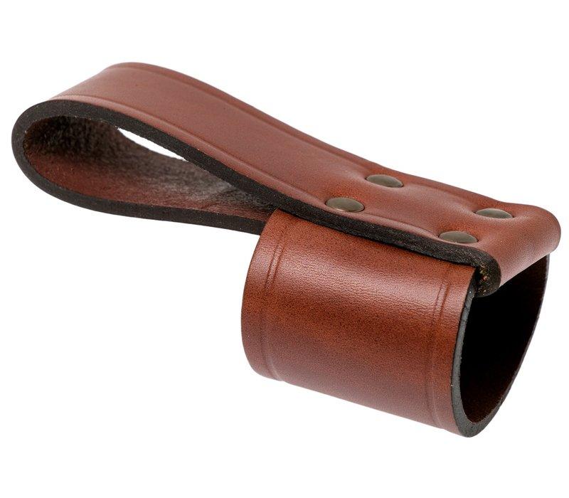 Casstrom Axe loop - bijl holster leer cognac bruin