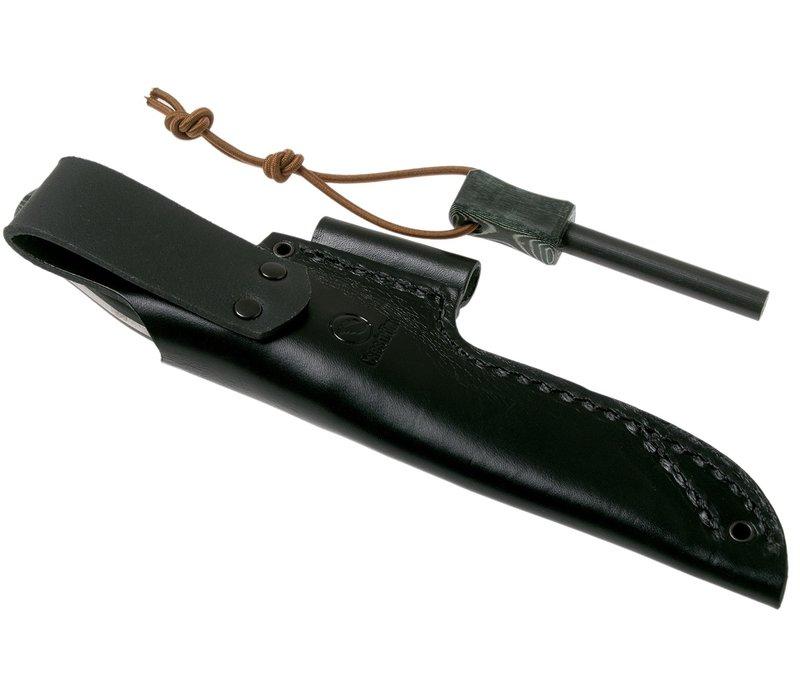 Casstrom No. 10 Swedish Forest Knife Green Micarta with firesteel