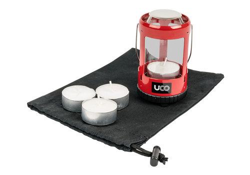 UCO Gear Uco Mini Lantern kit 2.0 Rood of Groen