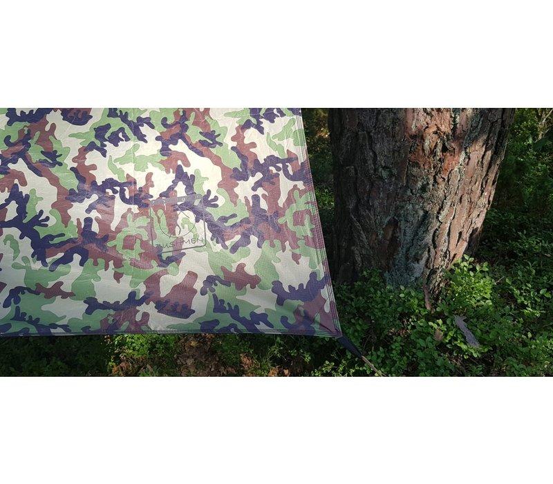 Bushmen Thermo Tarp 3x3 Olive Green of Camo