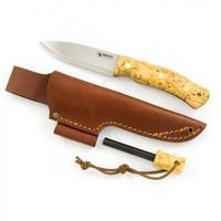 Casstrom No. 10 Swedish Forest Knife K720 Curly Birch with Firesteel