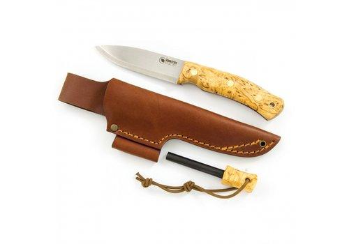 Casstrom Casstrom No. 10 Swedish Forest Knife K720 Curly Birch with Firesteel