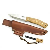 Casstrom No. 10 Swedish Forest Knife K720 eiken met Firesteel