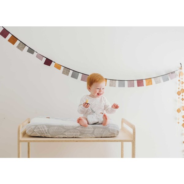 Witlof for kids Aankleedkussenhoes Beleaf Warm Grey