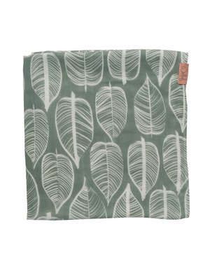 Witlof for kids Hydrofiele doek 120x120 Beleaf Sage Green