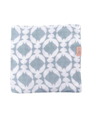 Witlof for kids Hydrofiele doek 120x120 Fly High Dusty Blue