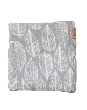 Witlof for kids Hydrofiele doek 120x120 Beleaf Warm Grey