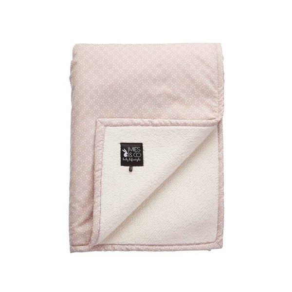 Mies & Co Teddy Blanket Pretty Pearls 70 x 100 cm