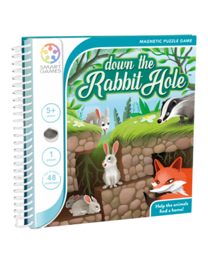 Smartgames Magnetic Travel: Down The Rabbit Hole