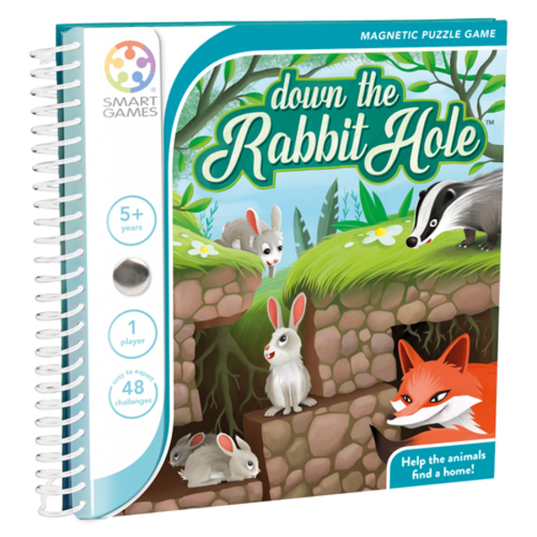 Smartgames Magnetic Travel: Down The Rabbit Hole, 5+