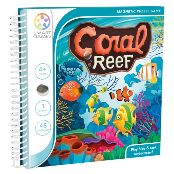 Smartgames Magnetic Travel: Coral Reef, 4+
