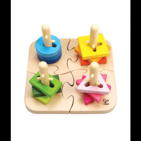 Hape Houten driedimensionale puzzel