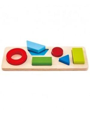 Hape Houten geometrische puzzel