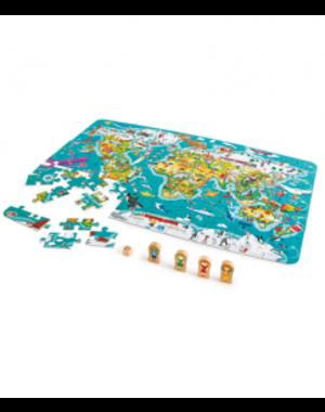 Hape Wereld puzzel/spelletje