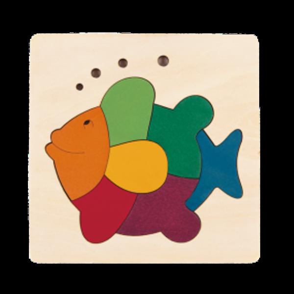 Hape Houten Puzzel Regenboog Vis