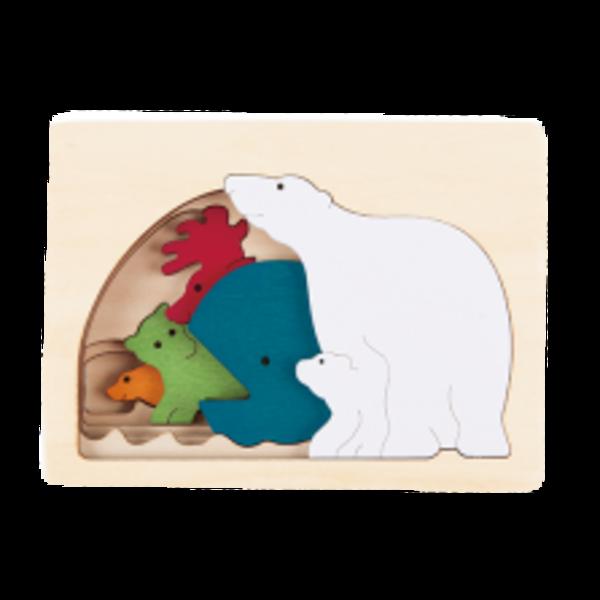 Hape Houten Puzzel Noordpool