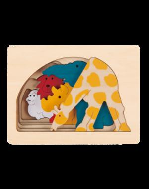 Hape Houten Puzzel Savanne