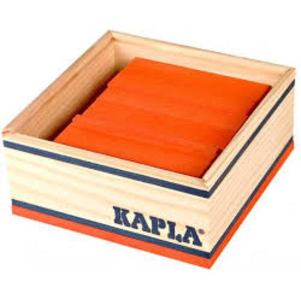 Kapla Kapla Oranje 40 stuks