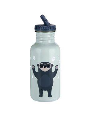 Blafre Drinkbeker Brillebjorn 500ml light blue