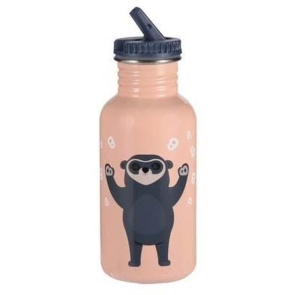 Blafre Drinkbeker Brillebjorn 500ml light pink