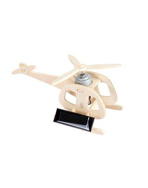 Egmont toys 3D Houten helikopter op zonne-energie