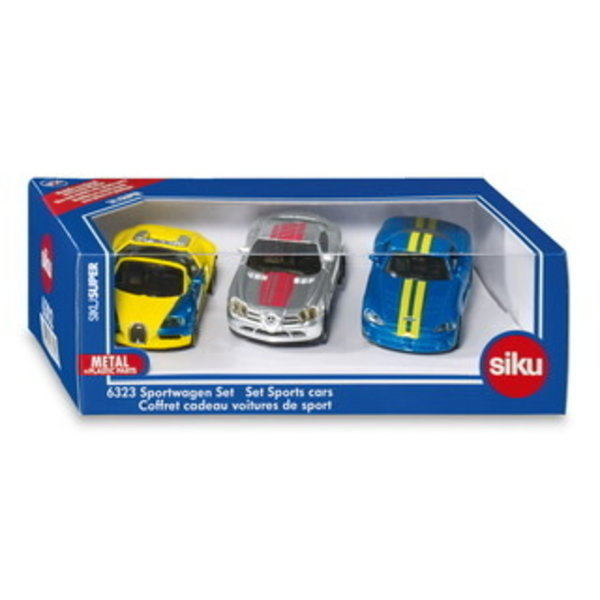 Siku Siku Sportwagenset