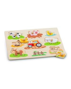 New Classic Toys Nopjespuzzel boerderij