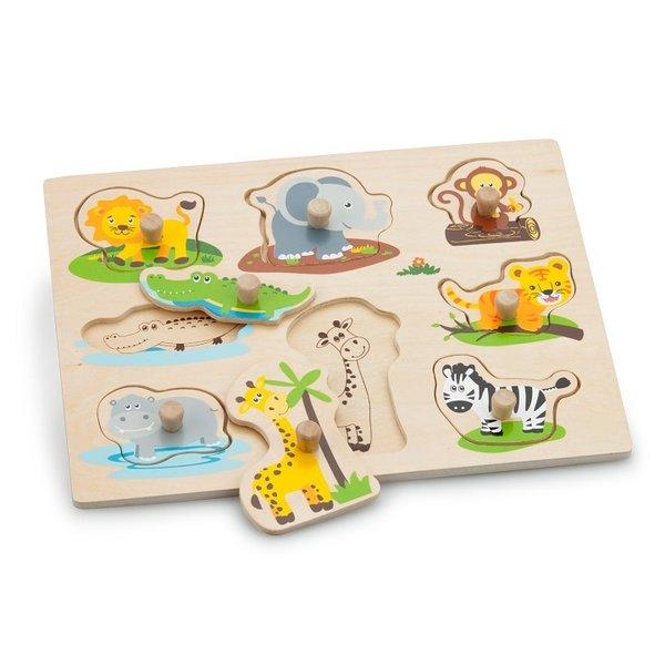 New Classic Toys Nopjespuzzel Safari