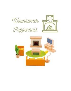 Hape Poppenhuis woonkamer