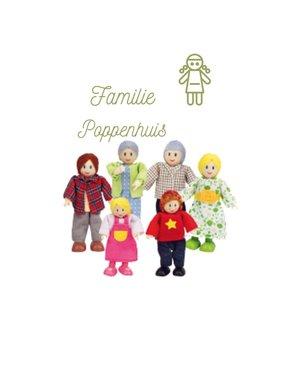 Hape Poppenhuis Familie