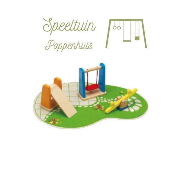 Hape Poppenhuis Speeltuin
