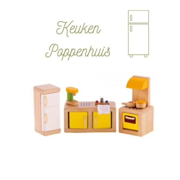 Hape Poppenhuis Keuken