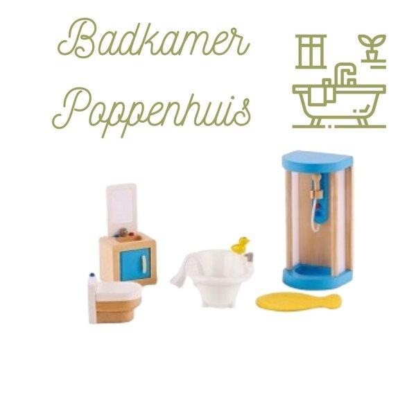 Hape Poppenhuis Badkamer