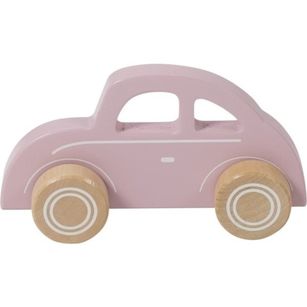 Little Dutch Little dutch houten auto roze