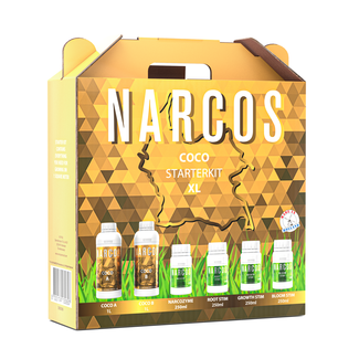NARCOS® Narcos Starterkit Coco A+B XL