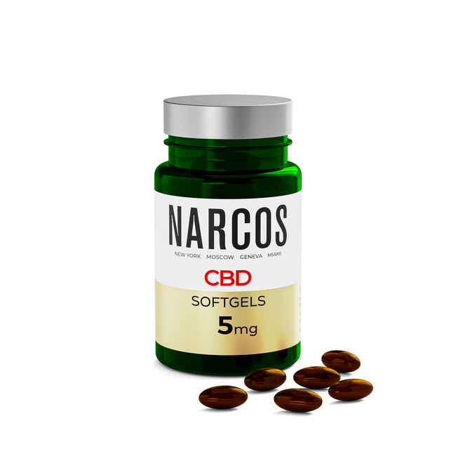NARCOS® CBD Softgels