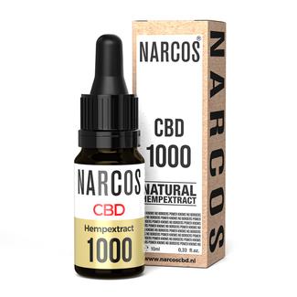NARCOS® Aceite de CBD 10%