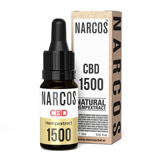 NARCOS® CBD Olie 15%
