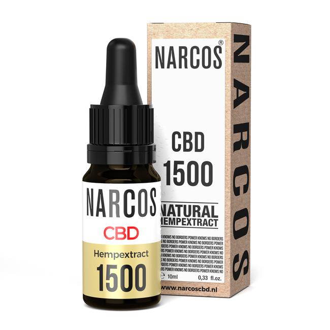 NARCOS® Huile de CBD 15%