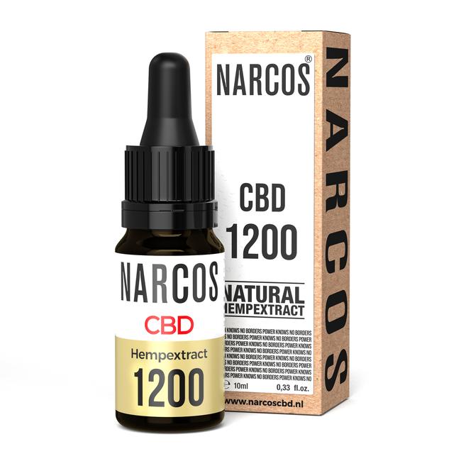 NARCOS® CBD Olie 12%