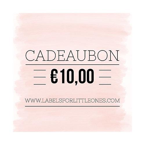 Cadeaubon €10 // Labels for Little Ones-1