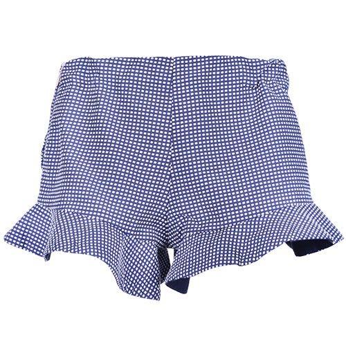 Hucklebones London Peplum Shorts Navy Blue (Korte Broek)-1