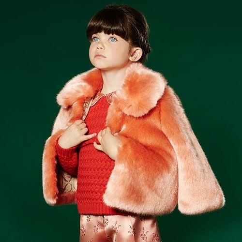Hucklebones London Faux Fur Jacket Milkshake (Jas)-2