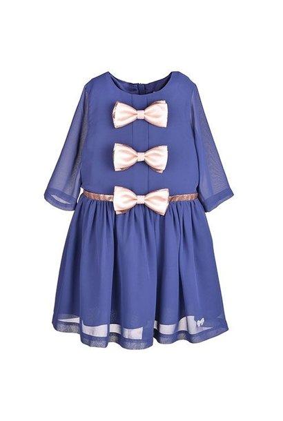 Hucklebones London Tea Dress Midnight (Jurk)