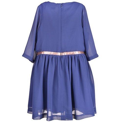 Hucklebones London Tea Dress Midnight (Jurk)-5