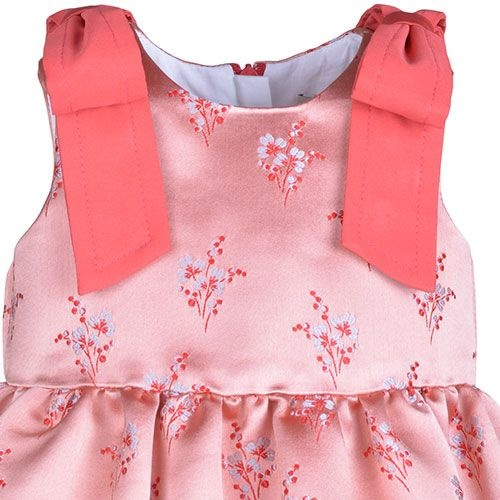 Hucklebones London Bodice Dress & Bloomers Milkshake (Jurk)-3